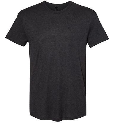 Hanes MO100 Modal Triblend T-Shirt Black Heather Triblend