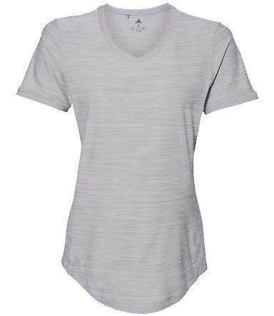 Adidas Golf Clothing A373 Women's Tech Tee Mid Grey Heather