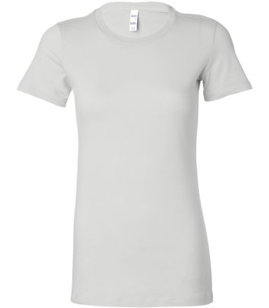BELLA 6004 Womens Favorite T-Shirt WHITE