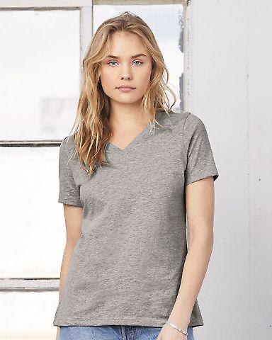 BELLA 6405 Ladies Relaxed V-Neck T-shirt Catalog