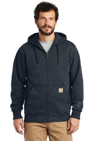 CARHARTT 100614 Carhartt  Rain Defender  Paxton Heavyweight Hooded Zip-Front Sweatshirt Catalog