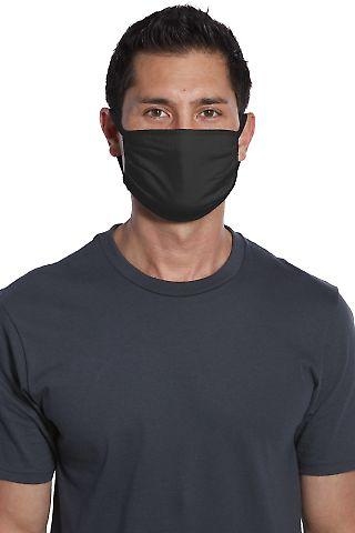 CASE PACK Face Mask Flat 500 units Cotton Knit  BLACK