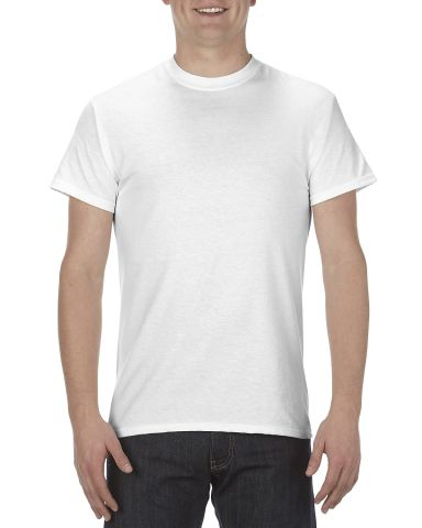 1901 ALSTYLE Adult Short Sleeve Tee White