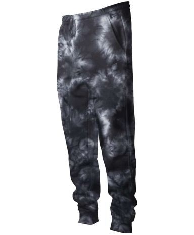 Independent Trading Co. PRM50PTTD Tie-Dyed Fleece  Tie Dye Black