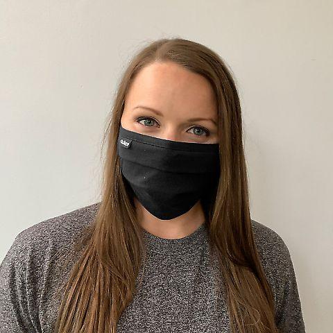 Tultex FM19 Pleated Face Mask Black