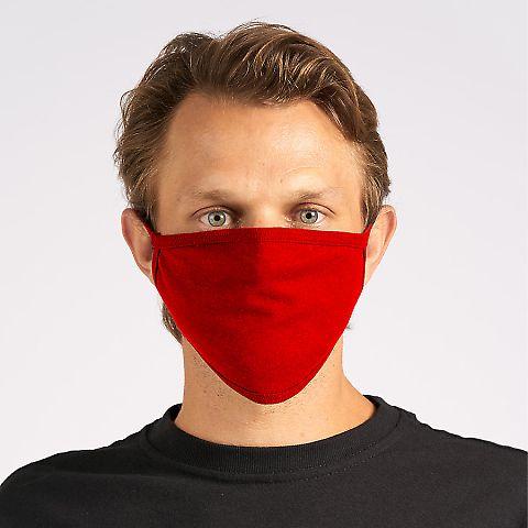 Tultex FM21 Enhanced Flat Face Mask Red