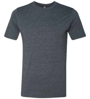Next Level 6200 Men's Poly/Cotton Tee ANTIQUE DENIM