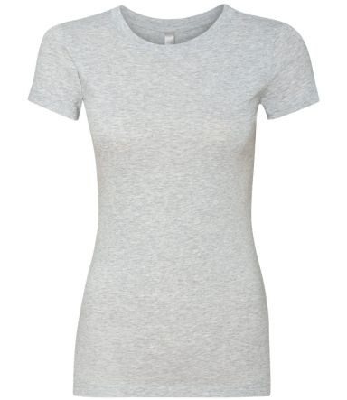 Next Level 3300L The Perfect Tee HEATHER GRAY