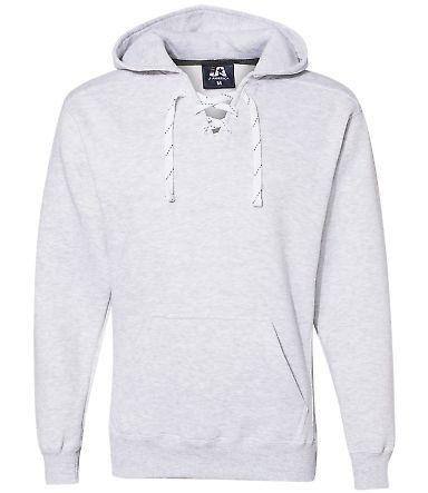 J. America - Sport Lace Hooded Sweatshirt - 8830 Ash Heather