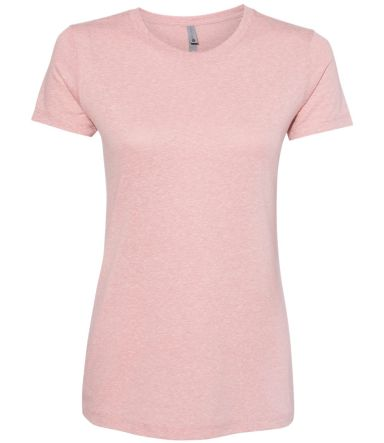 Next Level 6710 Tri-Blend Crew DESERT PINK