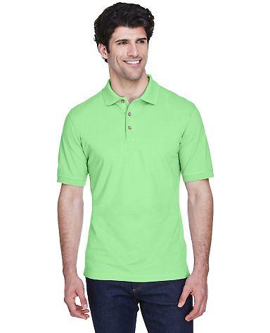 8535 UltraClub® Men's Classic Pique Cotton Polo APPLE