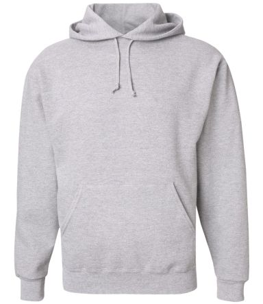 4997 Jerzees Adult Super Sweats® Hooded Pullover  Ash