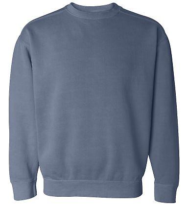 1566 Comfort Colors - Pigment-Dyed Crewneck Sweats BLUE JEAN