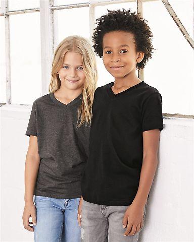 BELLA+CANVAS 3005Y Youth V-Neck T-Shirt Catalog