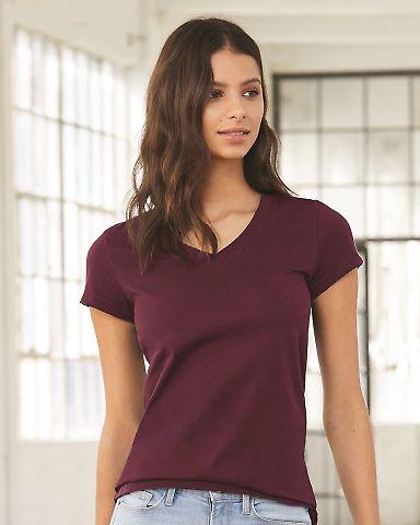BELLA 6005 Womens V-Neck T-shirt Catalog