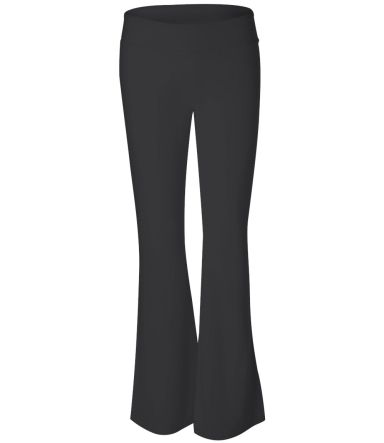 BELLA 810 Womens Cotton/Spandex Workout Pants BLACK
