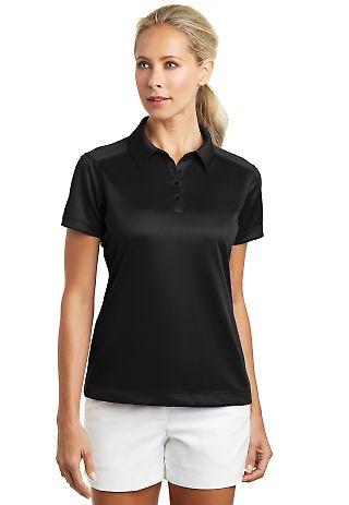 Nike Golf Ladies Dri FIT Pebble Texture Polo 35406 Black