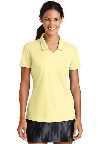 354067 Nike Golf Ladies Dri FIT Micro Pique Polo  Cornsilk
