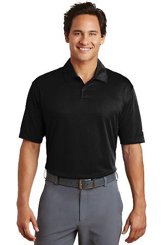Nike Golf Dri FIT Pebble Texture Polo 373749 Black