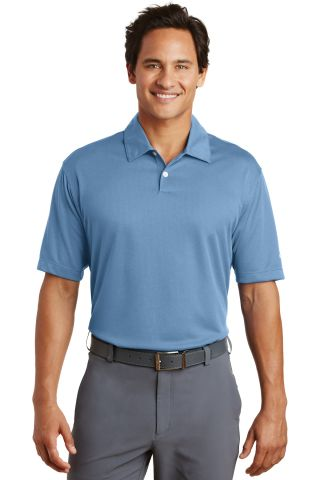 Nike Golf Dri FIT Pebble Texture Polo 373749 Fair Blue