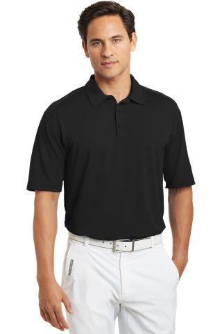 Nike Golf Dri FIT Mini Texture Polo 378453 Black