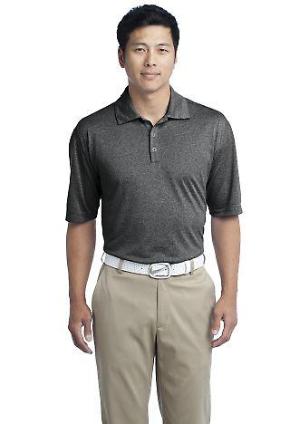 Nike Golf Dri FIT Heather Polo 474231 Black Heather