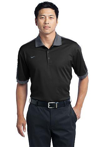 Nike Golf Dri FIT N98 Polo 474237 Black/Cool Gry