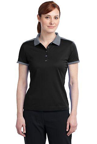 Nike Golf Ladies Dri FIT N98 Polo 474238 Black/Cool Gry