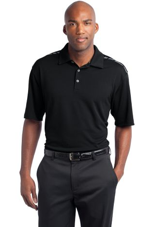 Nike Golf Dri FIT Graphic Polo 527807 Black/Cool Gry