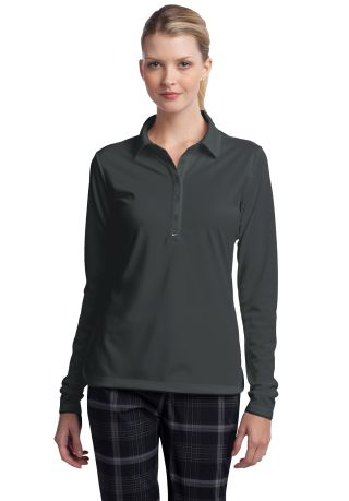 Nike Golf Ladies Long Sleeve Dri FIT Stretch Tech  Anthracite