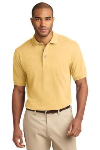 Port Authority Pique Knit Polo K420 Catalog