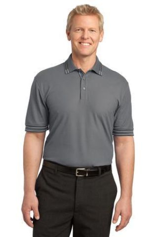 Port Authority Silk Touch153 Tipped Polo K502 Catalog
