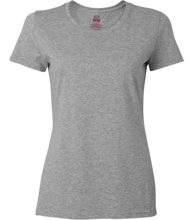 Fruit of the Loom Ladies Heavy Cotton HD153 100 Co Athletic Heather