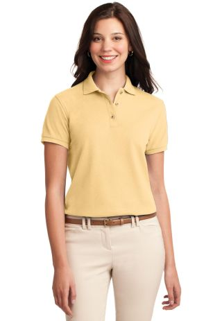 Port Authority Ladies Silk Touch153 Polo L500 Banana