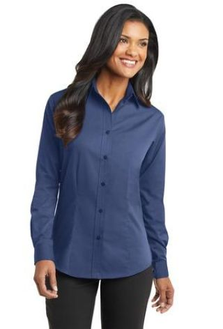 Port Authority Ladies Tonal Pattern Easy Care Shirt L613 Catalog