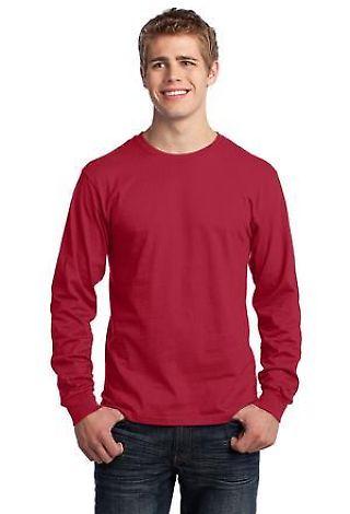 Port  Company Long Sleeve 54 oz 100 Cotton T Shirt PC54LS Catalog