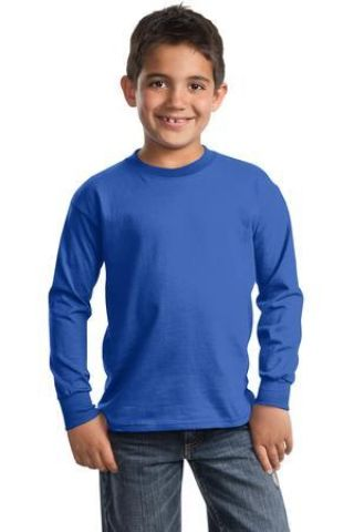 Port  Company Youth Long Sleeve Essential T Shirt PC61YLS Catalog