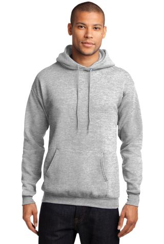 Port  Company Classic Pullover Hooded Sweatshirt P Ash