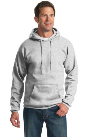 Port  Company Ultimate Pullover Hooded Sweatshirt  Ash