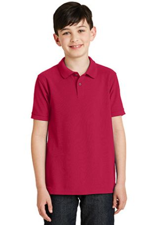 Port Authority Youth Silk Touch153 Polo Y500 Catalog