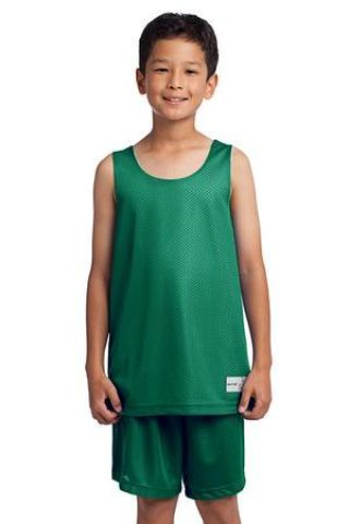 Sport Tek Youth PosiCharge Classic Mesh 8482 Reversible Tank YST500 Catalog