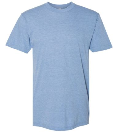American Apparel TR401 Unisex Tri-Blend Track Tee ATHLETIC BLUE