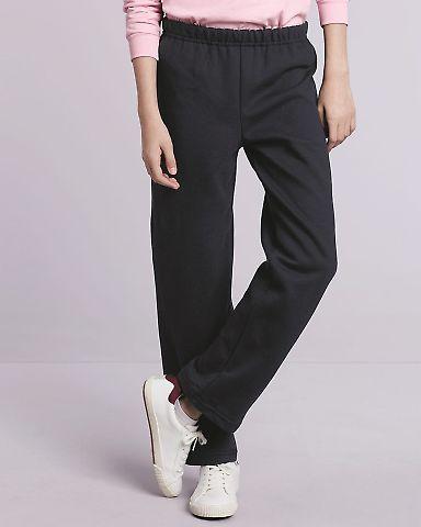 18400B Gildan Youth Heavy BlendOpen Bottom Sweatpants Catalog