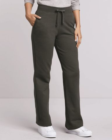 18400FL Gildan Missy Fit Heavy BlendOpen Bottom Sweatpants Catalog