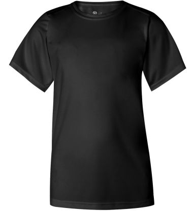 2120 Badger Youth B-Core Performance Tee Black