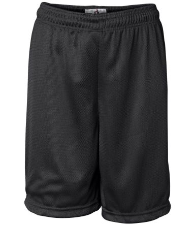 2237 Badger Youth Mini-Mesh Shorts Black