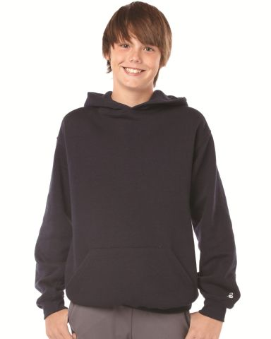 2254 Badger Youth Hooded Sweatshirt Catalog