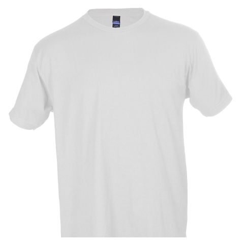 0202TC Tultex Unisex Tee with a Tear-Away Tag  White