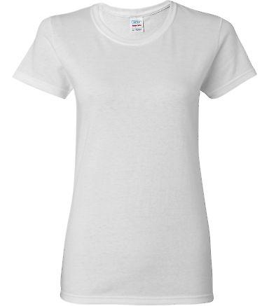 5000L Gildan Missy Fit Heavy Cotton T-Shirt WHITE