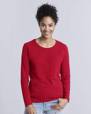 5400L Gildan Missy Fit Heavy Cotton Fit Long-Sleeve T-Shirt Catalog